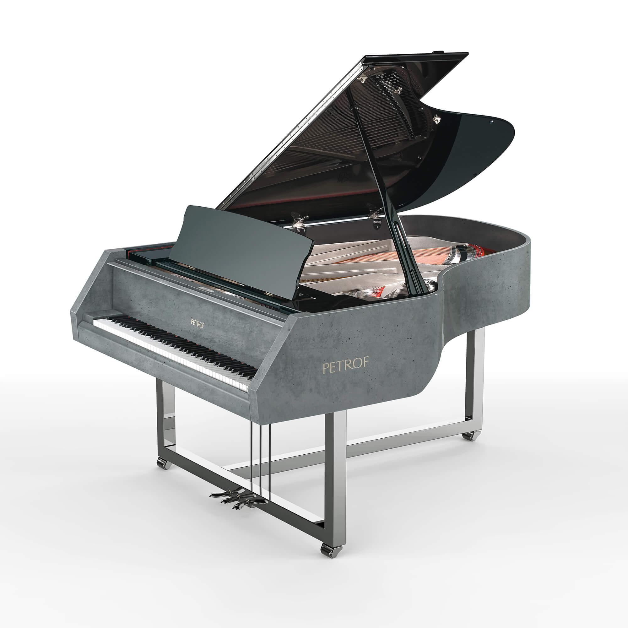 Piano en béton Gravelli & PETROF