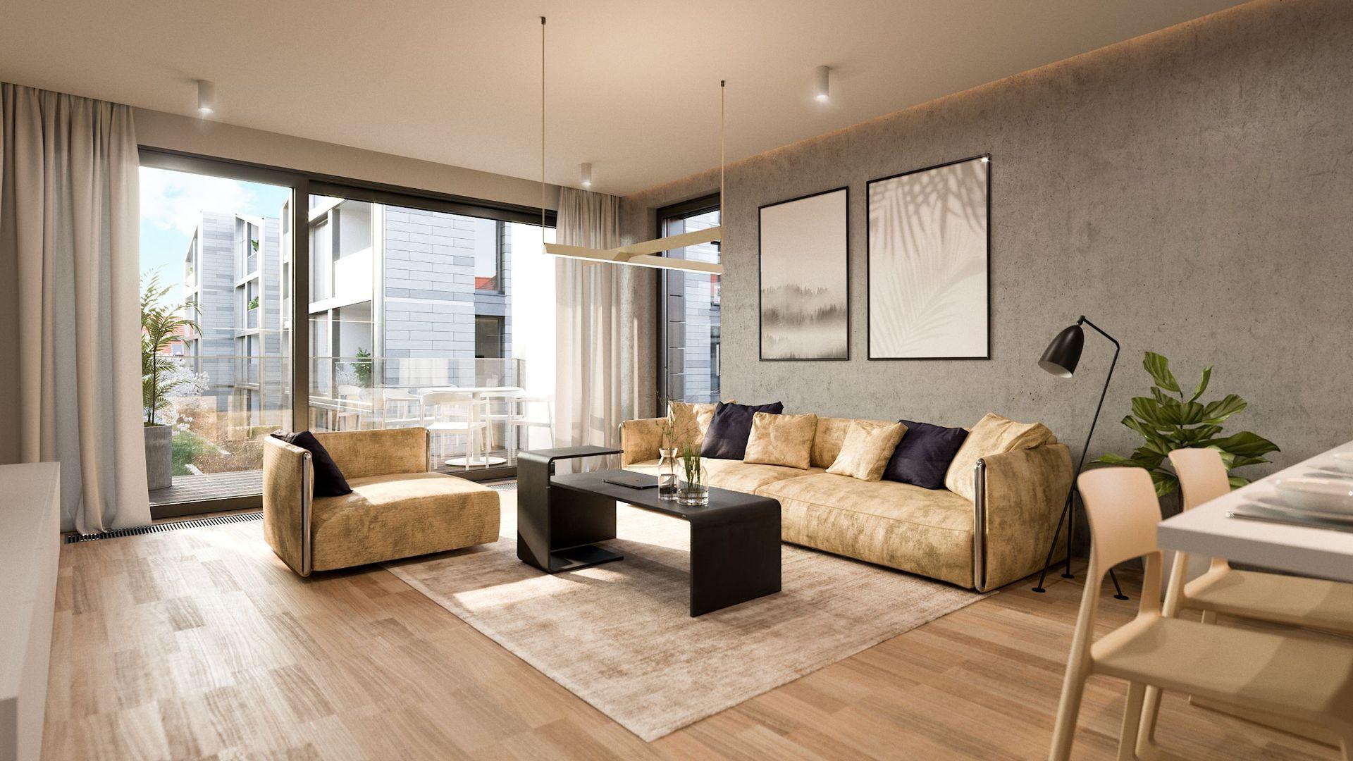 Appartements modèles, Šárecký Dvůr