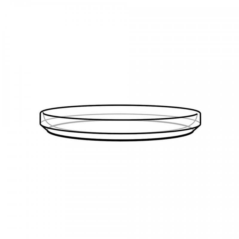 High rim plate